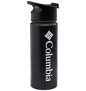Double-Wall Vacuum Bottle with Sip-Thru Top 18oz