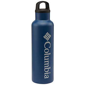 Columbia Double-Wall Vacuum 20oz Water Bottle with Screw-On Top