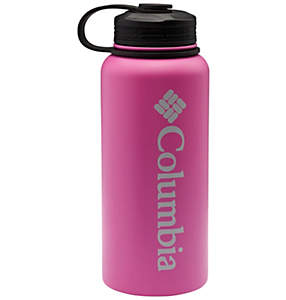 Double-Wall Vacuum Bottle with Screw On Top 32oz