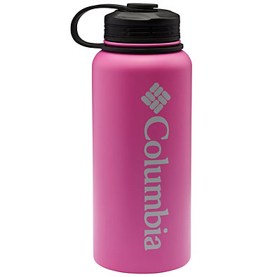 Double-Wall Vacuum Bottle with Screw On Top 32oz Vacuum Double Wall Bottle 32oz   431   O/S, Bright Lavender, front