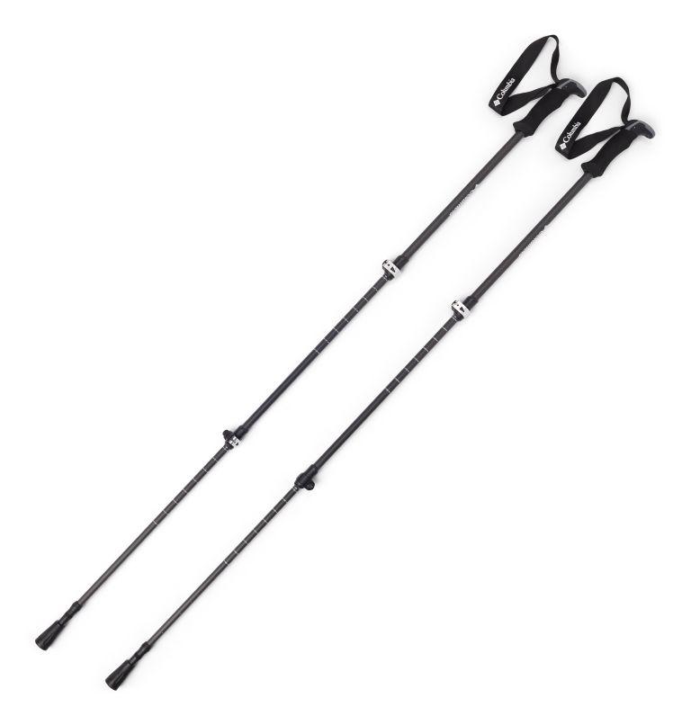 Trekking Poles Carbon Fiber 2pc | 010 | O/S Carbon Fiber Trekking Pole - 2 Pack, Black, front