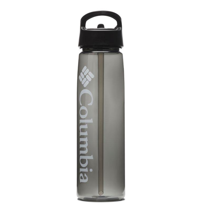 Tritan Straw Top Outdoor Bottle 25oz   010   O/S BPA-Free Straw-Top Bottle 25oz, Black, front