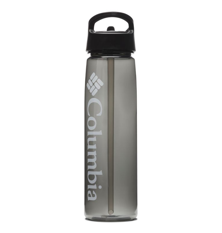 Botella con tapa con pajita y sin bisfenol A - 0,7 l Botella con tapa con pajita y sin bisfenol A - 0,7 l, Black, front