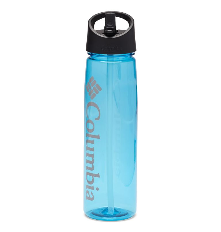 Tritan Straw Top Outdoor Bottle 25oz | 459 | O/S BPA-Free Straw-Top Bottle 25oz, Clear Blue, a1