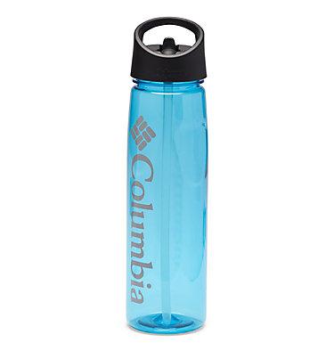 BPA-Free Straw-Top Bottle 25oz Tritan Straw Top Outdoor Bottle 25oz   465   O/S, Clear Blue, front