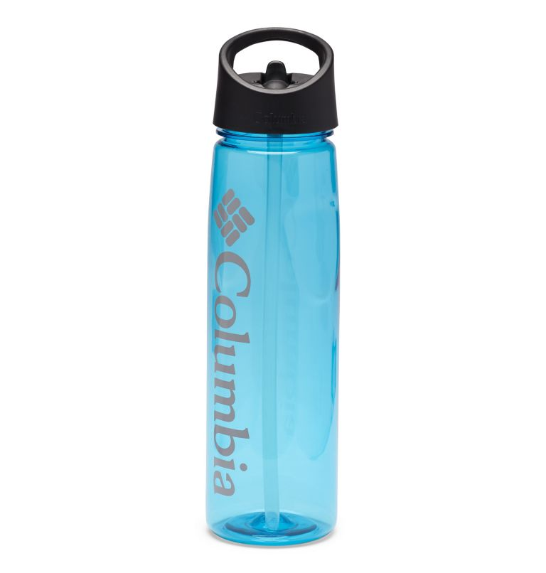 Tritan Straw Top Outdoor Bottle 25oz | 459 | O/S BPA-Free Straw-Top Bottle 25oz, Clear Blue, front