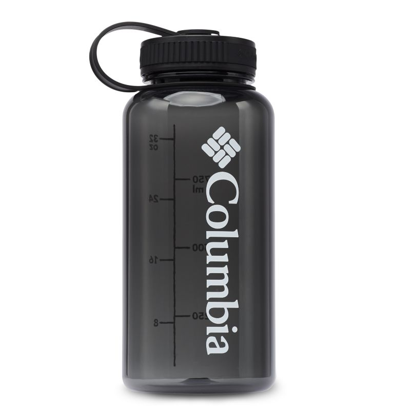 Tritan Outdoor Bottle 33oz | 010 | O/S BPA-Free Outdoor Water Bottle 32oz, Black, front