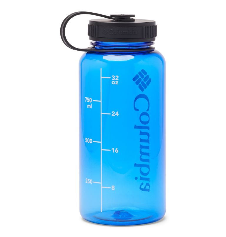 Tritan Outdoor Bottle 33oz | 437 | O/S BPA-Free Outdoor Water Bottle 32oz, Azul, back