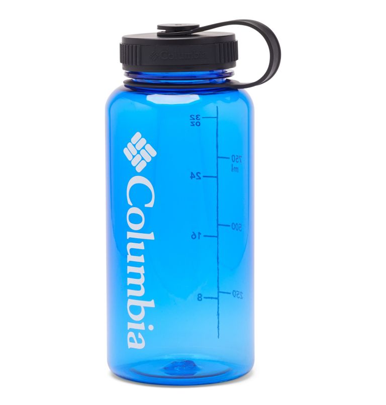 Tritan Outdoor Bottle 33oz | 437 | O/S BPA-Free Outdoor Water Bottle 32oz, Azul, front
