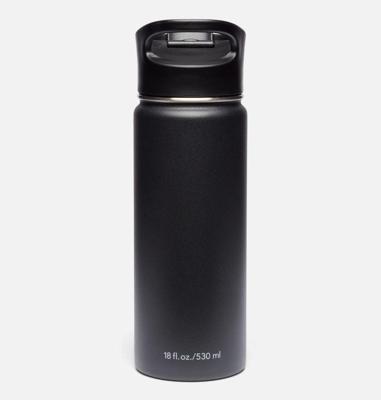 Botella con doble pared aislada al vacío y boquilla - 0,5 l Botella con doble pared aislada al vacío y boquilla - 0,5 l, Black, back
