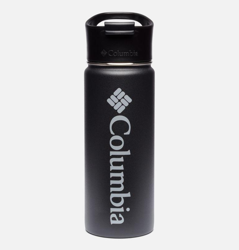 Botella con doble pared aislada al vacío y boquilla - 0,5 l Botella con doble pared aislada al vacío y boquilla - 0,5 l, Black, front