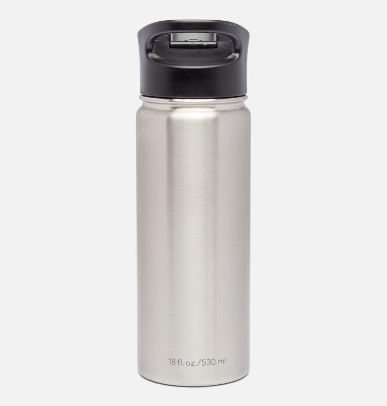 Botella con doble pared aislada al vacío y boquilla - 0,5 l Botella con doble pared aislada al vacío y boquilla - 0,5 l, Grey, back