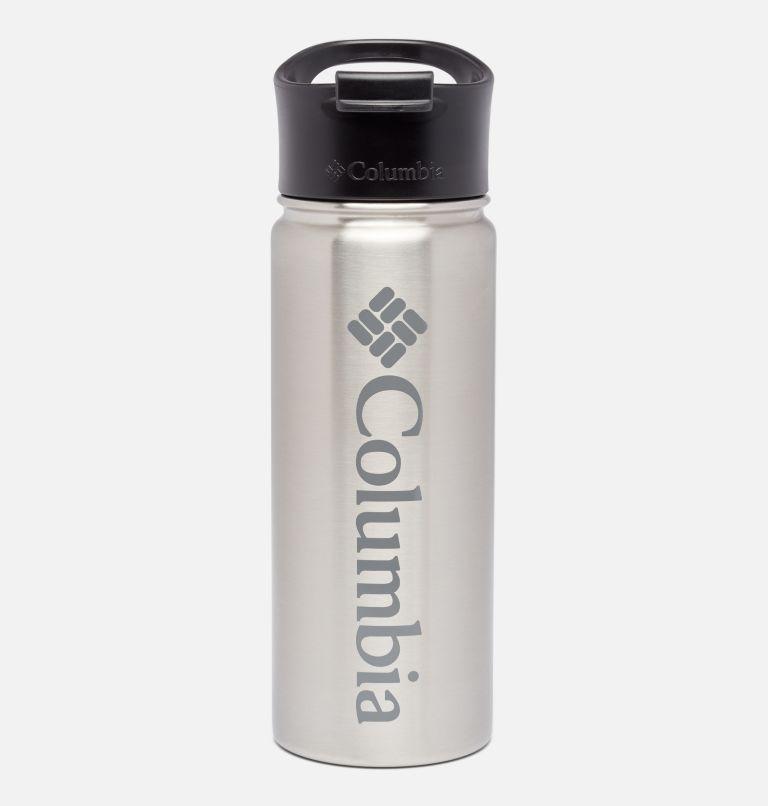 Botella con doble pared aislada al vacío y boquilla - 0,5 l Botella con doble pared aislada al vacío y boquilla - 0,5 l, Grey, front