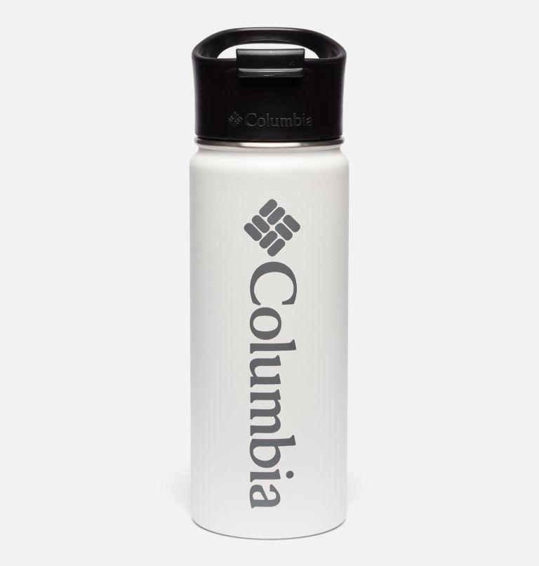 Botella con doble pared aislada al vacío y boquilla - 0,5 l Botella con doble pared aislada al vacío y boquilla - 0,5 l, White, front