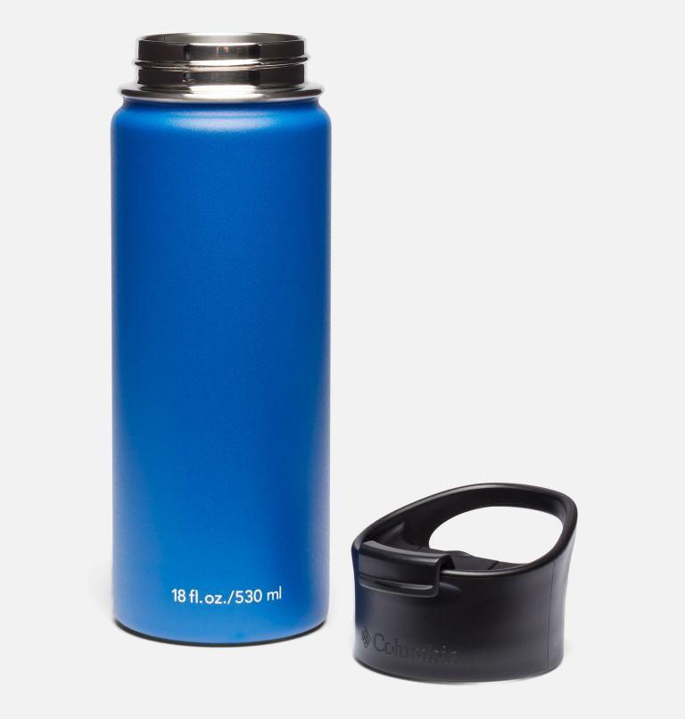 Botella con doble pared aislada al vacío y boquilla - 0,5 l Botella con doble pared aislada al vacío y boquilla - 0,5 l, Azul, a1