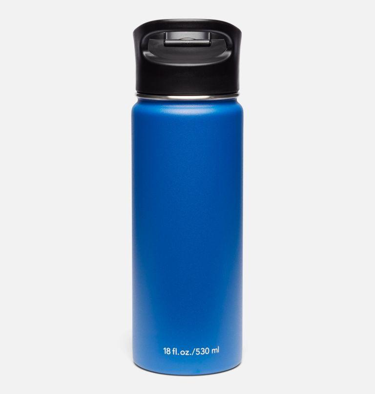 Botella con doble pared aislada al vacío y boquilla - 0,5 l Botella con doble pared aislada al vacío y boquilla - 0,5 l, Azul, back