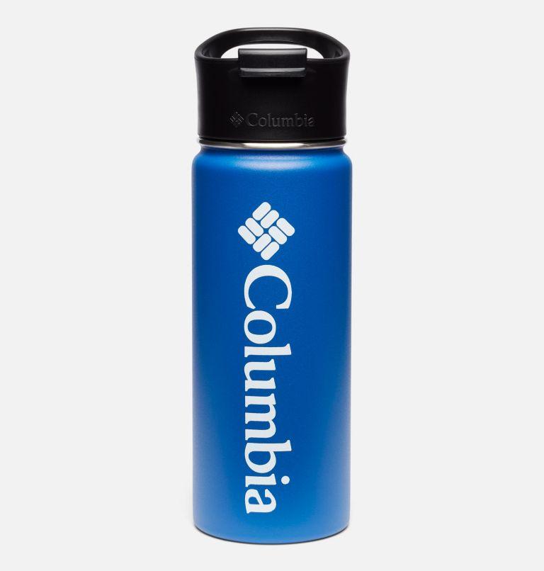 Botella con doble pared aislada al vacío y boquilla - 0,5 l Botella con doble pared aislada al vacío y boquilla - 0,5 l, Azul, front