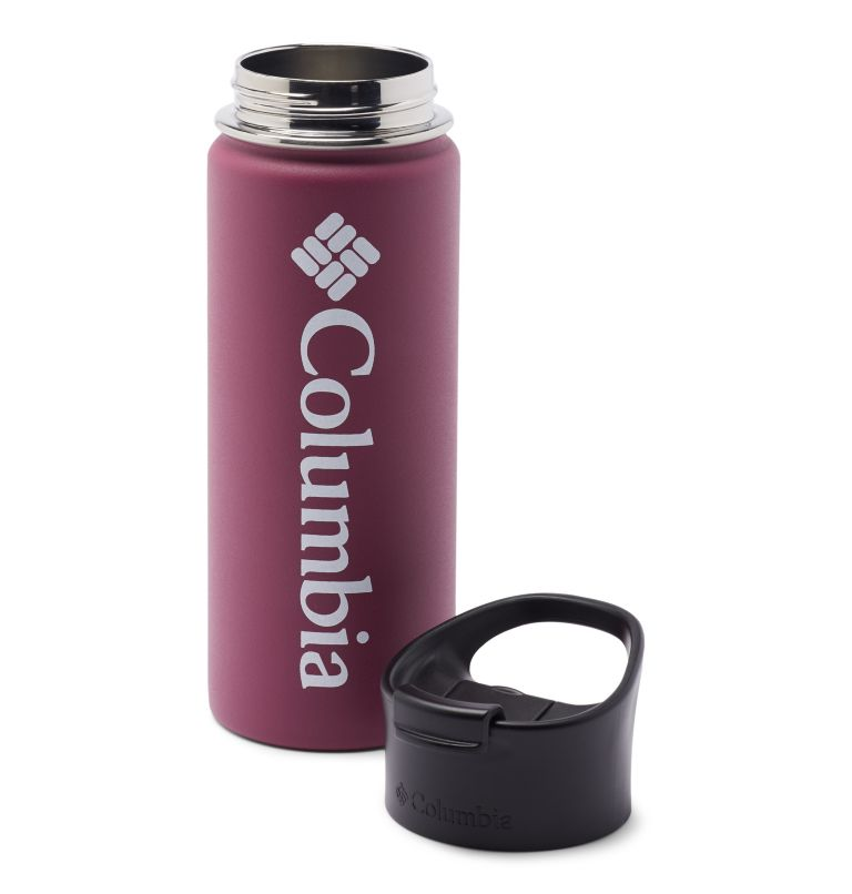 Vacuum Double Wall Bottle 18oz | 459 | O/S Double-Wall Vacuum Bottle with Sip-Thru Top - 18oz, Wine Berry, a1