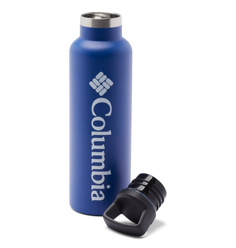 Double-Wall Vacuum Bottle with Screw-On Top - 21oz   437   O/S Double-Wall Vacuum Bottle with Screw-On Top - 21oz, Azul, a1