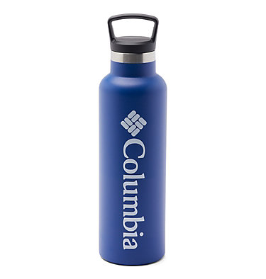 Double-Wall Vacuum Bottle with Screw-On Top - 21oz Double-Wall Vacuum Bottle with Screw-On Top - 21oz   010   O/S, Azul, front