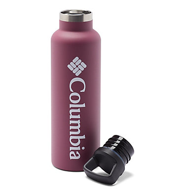 Double-Wall Vacuum Bottle with Screw-On Top - 21oz Double-Wall Vacuum Bottle with Screw-On Top - 21oz   010   O/S, Wine Berry, a1