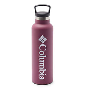 Double-Wall Vacuum Bottle with Screw-On Top - 21oz