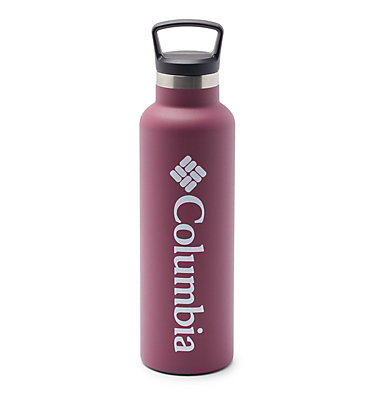 Double-Wall Vacuum Bottle with Screw-On Top - 21oz Double-Wall Vacuum Bottle with Screw-On Top - 21oz   010   O/S, Wine Berry, front