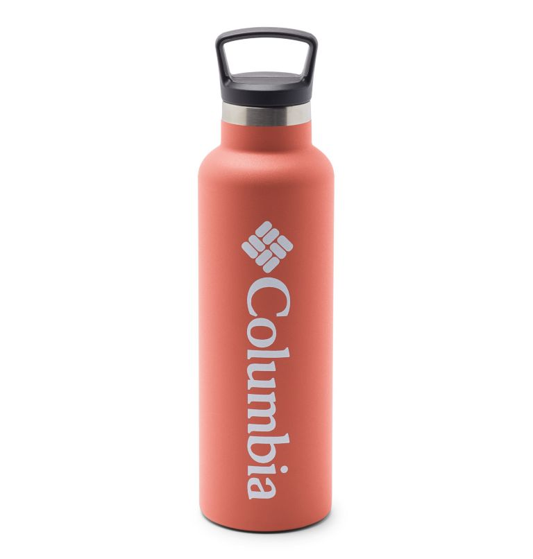 Double-Wall Vacuum Bottle with Screw-On Top - 21oz   853   O/S Double-Wall Vacuum Bottle with Screw-On Top - 21oz, Melonade, front