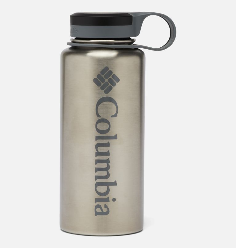 GSO0021 | 029 | O/S Double-Wall Vacuum Bottle with Screw Top Lid 32oz, Stainless, front
