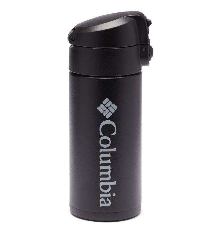 12 fl. oz. Ultralite Flip-Top Vacuum Bottle | 010 | O/S Ultra Lite Flip-Top Vacuum Bottle 12oz, Black, front
