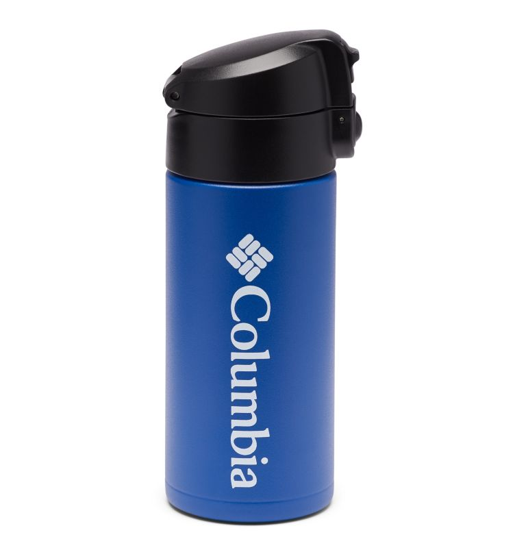 12 fl. oz. Ultralite Flip-Top Vacuum Bottle   437   O/S Ultra Lite Flip-Top Vacuum Bottle 12oz, Azul, front