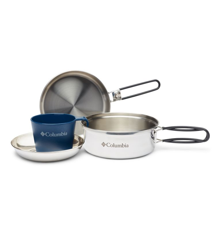 1 Person Mess Kit | 029 | O/S Stainless Steel One-Person Mess Kit, Stainless, a1
