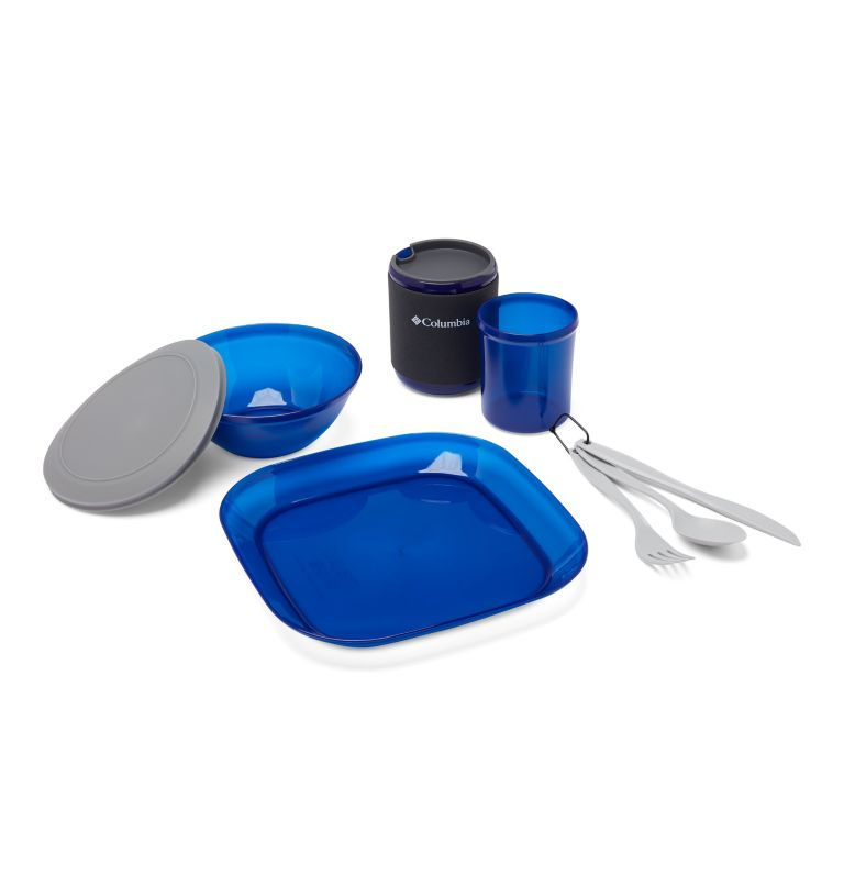 1 Person Table Set  | 437 | O/S One-Person Table Set, Azul, front