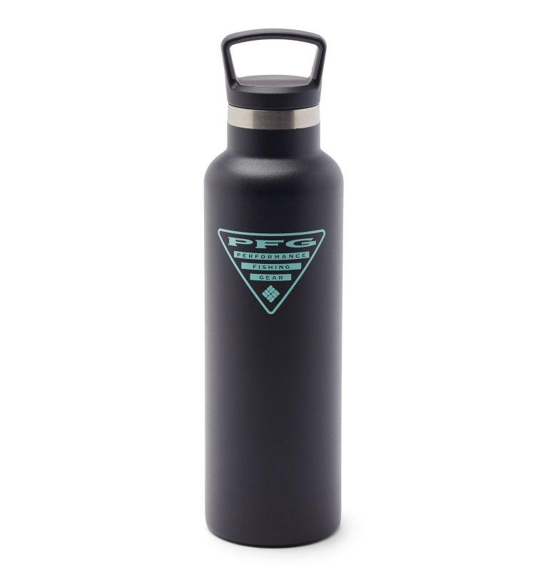 Tritan Water Bottle   010   O/S PFG Double-Wall Vacuum Bottle with Screw-On Top - 21oz, Black, back