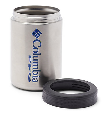 PFG Double-Wall Vacuum Can and Bottle Cozie Double Wall Vacuum Can + Bottle Cozie PFG   010   O/S, Stainless, a1