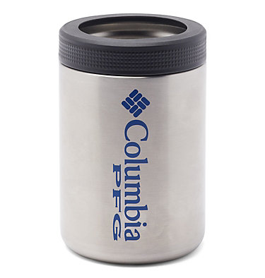 PFG Double-Wall Vacuum Can and Bottle Cozie Double Wall Vacuum Can + Bottle Cozie PFG   010   O/S, Stainless, front