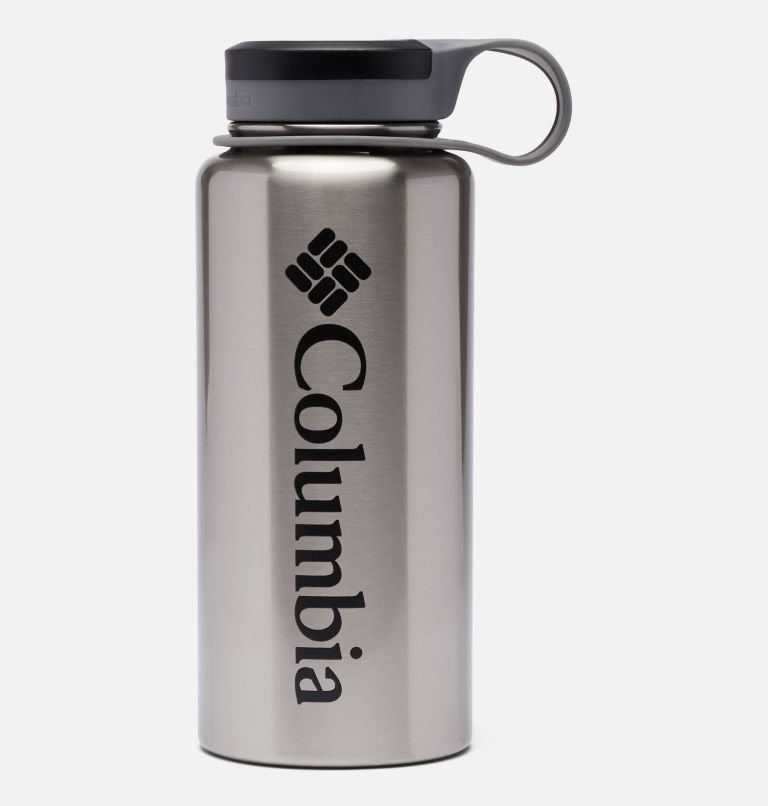 090497874611 | 029 | O/S Double-Wall National Parks Vacuum Bottle with Screw Top Lid 32oz, Rocky Mountain Stainless, back