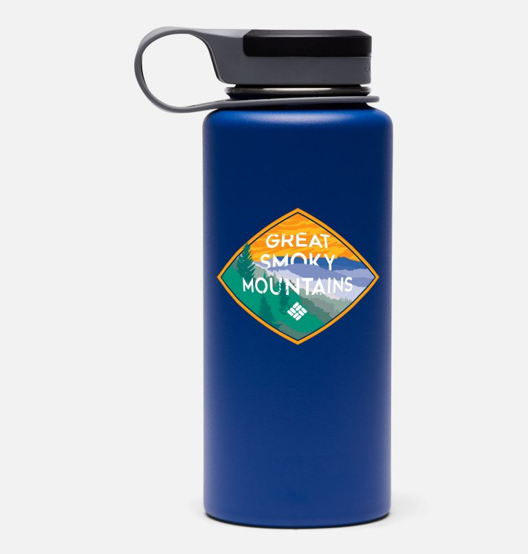 090497874789 | 440 | O/S Double-Wall National Parks Vacuum Bottle with Screw Top Lid 32oz, Smoky Mountain Azul, front
