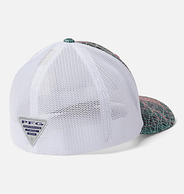 PFG Camo Mesh™ Ball Cap Camo Mesh™ Ball Cap | 426 | L/XL, Tiki Pink Real Tree Mako, back