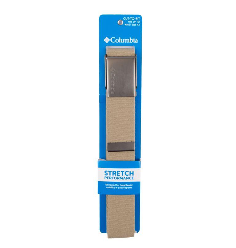 Men's Fabric Stretch Casual Belt | 340 | M Men's Fabric Stretch Casual Belt, Khaki, a3