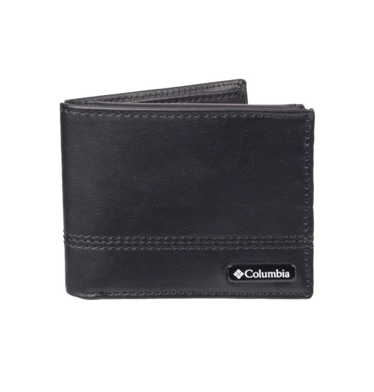 Men's RFID Passcase Wallet   010   O/S Men's RFID McDowell Passcase Wallet, Black, front