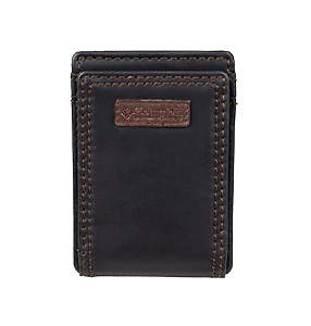 Men's RFID Magnetic Front Pocket Wallet - Patch Logo