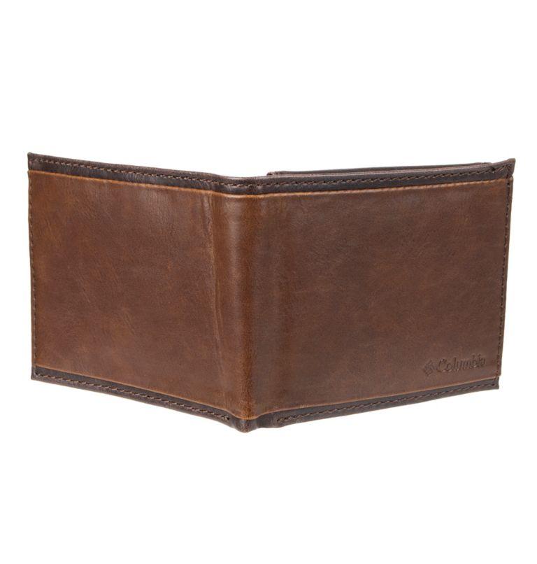 Men's RFID Deschutes Passcase Wallet | 200 | O/S Men's RFID Deschutes Passcase Wallet, Brown, back