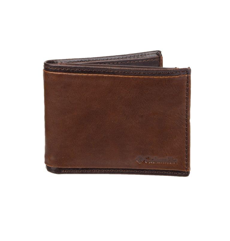 Men's RFID Deschutes Passcase Wallet | 200 | O/S Men's RFID Deschutes Passcase Wallet, Brown, front