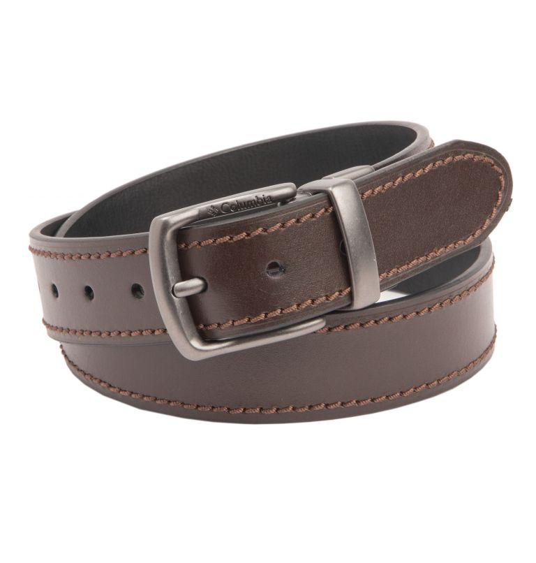 Men's Leather Reversible Casual Belt Men's Leather Reversible Casual Belt, back