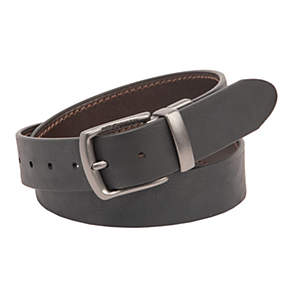 Men's Leather Reversible Casual Belt