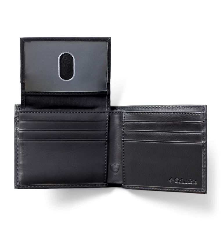 2 FOR 1 Wallet with Card Case | 001 | O/S Men's 2-for-1 Wallet with Card Case, Black, a1