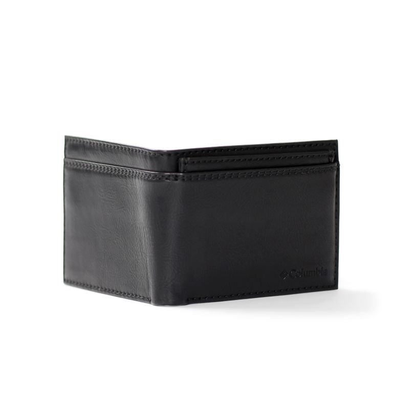 2 FOR 1 Wallet with Card Case | 001 | O/S Men's 2-for-1 Wallet with Card Case, Black, back