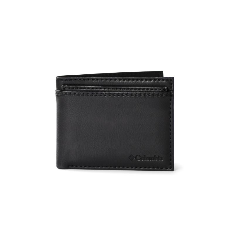 2 FOR 1 Wallet with Card Case | 001 | O/S Men's 2-for-1 Wallet with Card Case, Black, front