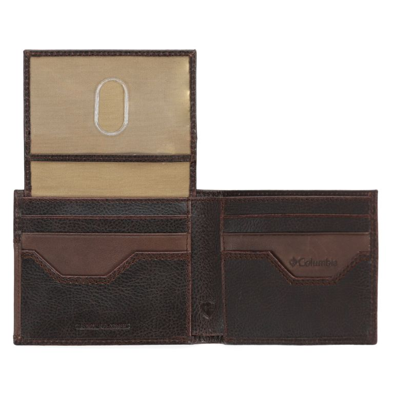 Slimfold Wallet With Phone Wallet Adhesi | 200 | O/S Men's Slim-fold with Adhesive Phone Wallet, Brown, a1